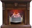Готовый комплект Dimplex Sheffield с очагом Rothesay Brass в Саратове