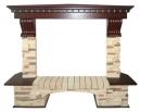 Портал Royal Flame Pierre Luxe сланец угловой для электрокаминов в Саратове