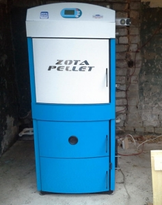 Твердотопливный котел ZOTA Pellet 100A